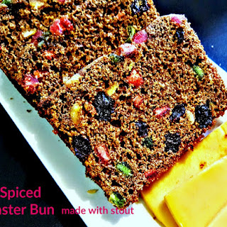 The most Amazing Jamaican Easter Bun.