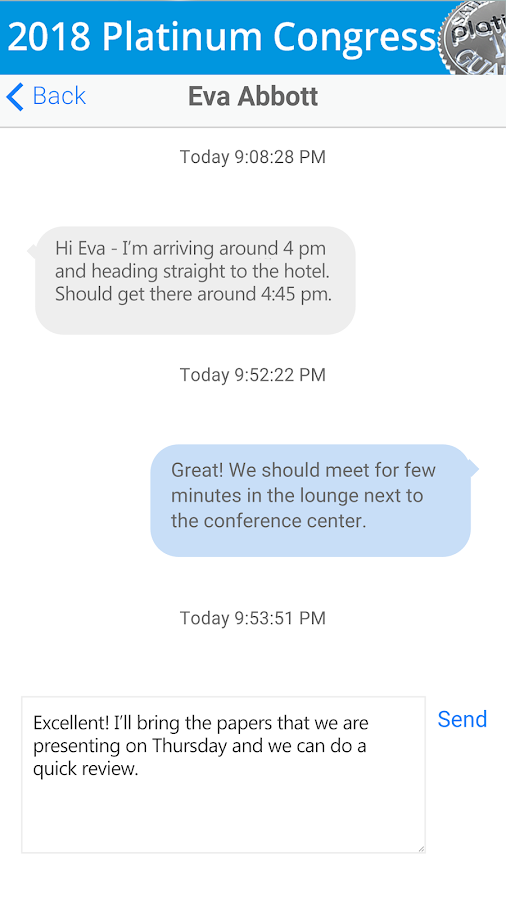 The Event App by EventsAIR- screenshot