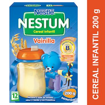 Cereal NESTUM Vainilla   con Canela Único con Probióticos x200g