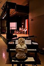 Photo: Akompaniament muzyczny- pani Aleksandra.