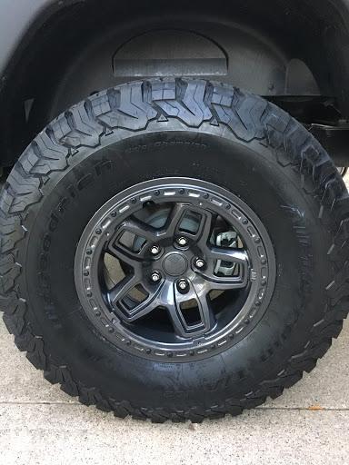 AEV BORAH Wheels are installed! - Jeep Wrangler Forum