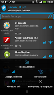 Mobiwol: NoRoot Firewall 5.51 [Mod + APK] Android 3