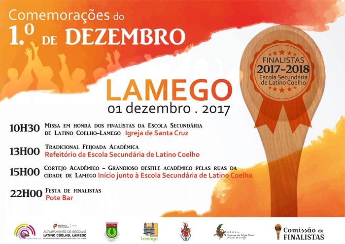 Comemorações do 1º de Dezembro – Lamego – 2017