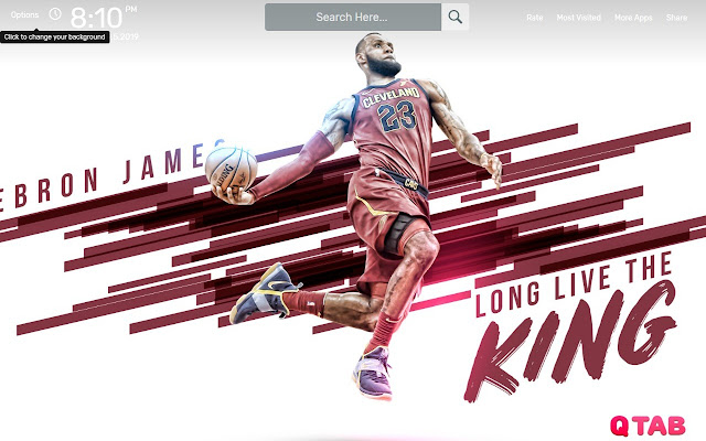 LeBron James Wallpapers HD Theme