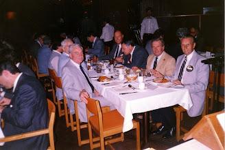 Photo: George Carscallen, Harry Atkinson (rear), Don McKeen (right)