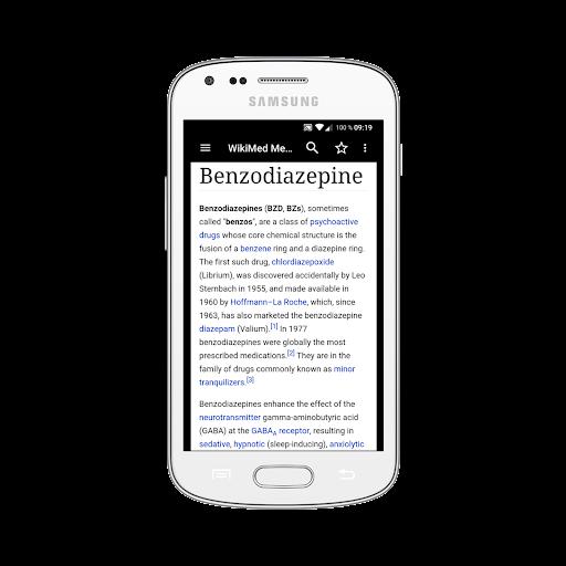 WikiMed mini - Offline Medical Wikipedia 2019-12 screenshots 2