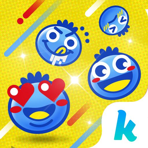 Blueberry Emoji Kika Keyboard Icon