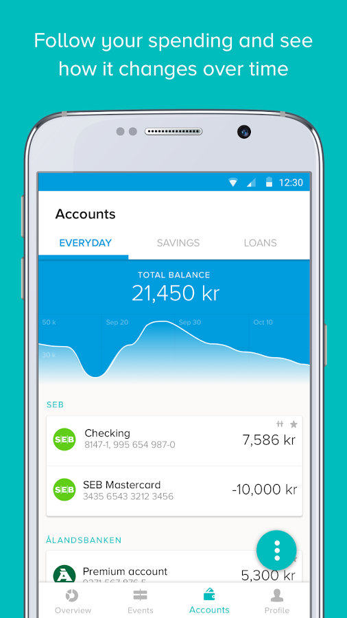 Tink - Personal finance- screenshot