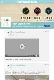 Trinity Baptist Church- screenshot thumbnail