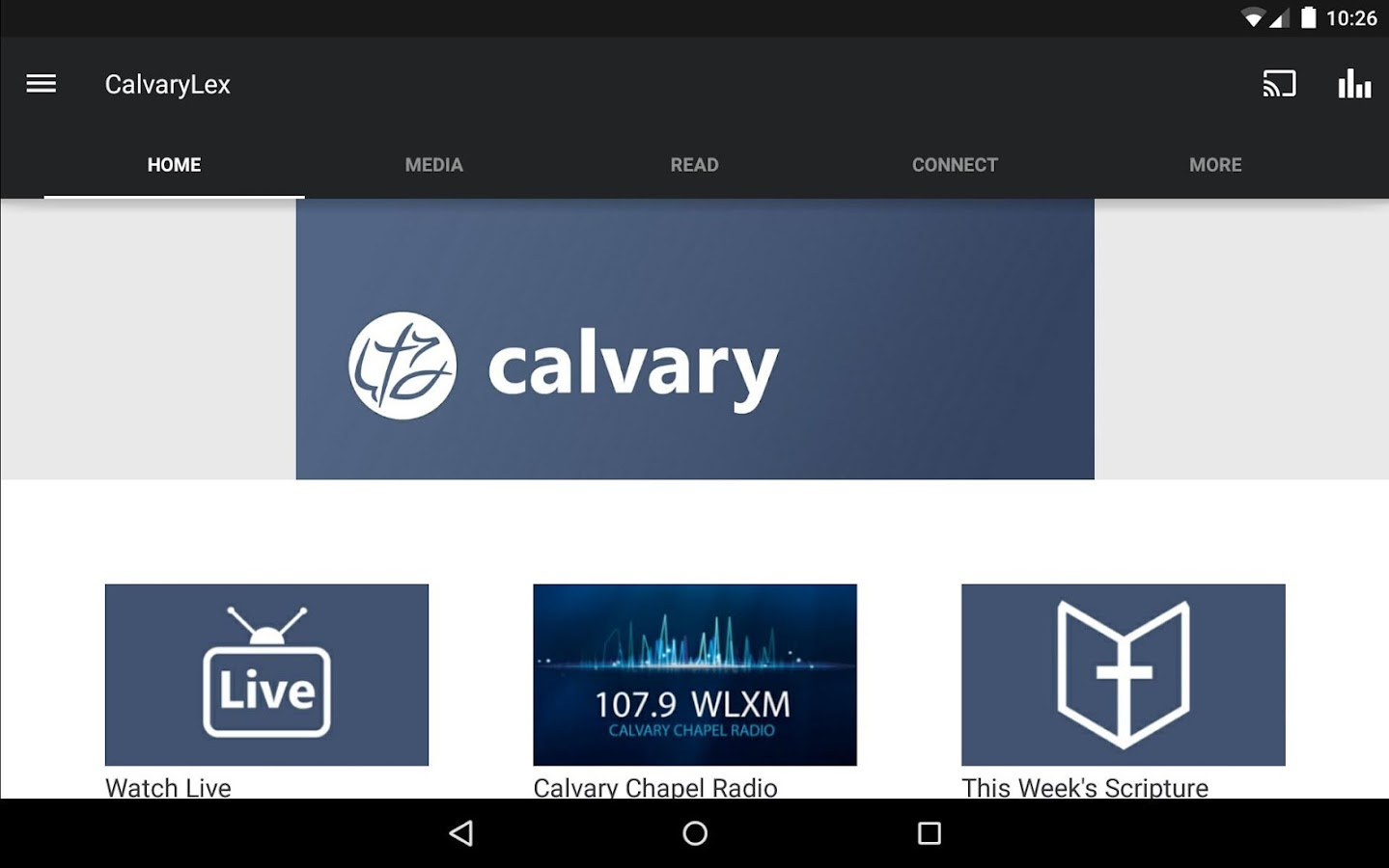 Calvary Chapel Fellowship- screenshot
