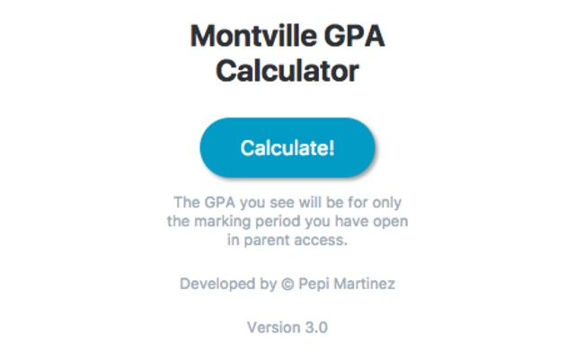 Montville GPA Calculator