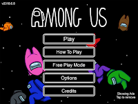 screenshot of Among Us