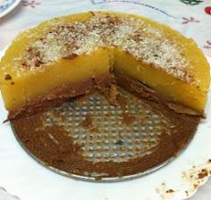Photo: Tarta de manzana y praliné de Amparo Abad