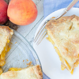 ~Fresh Peach Pie~.