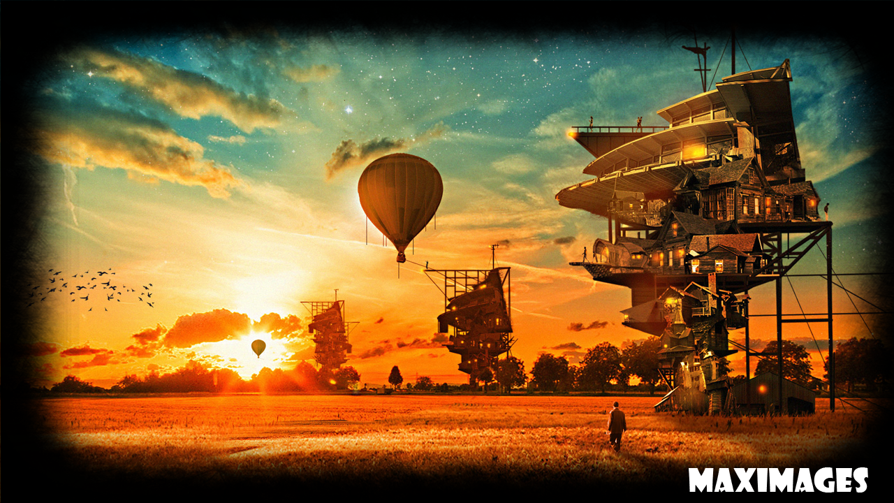 steampunk action wallpapers - photo #35