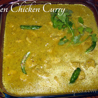 Green Chicken Curry