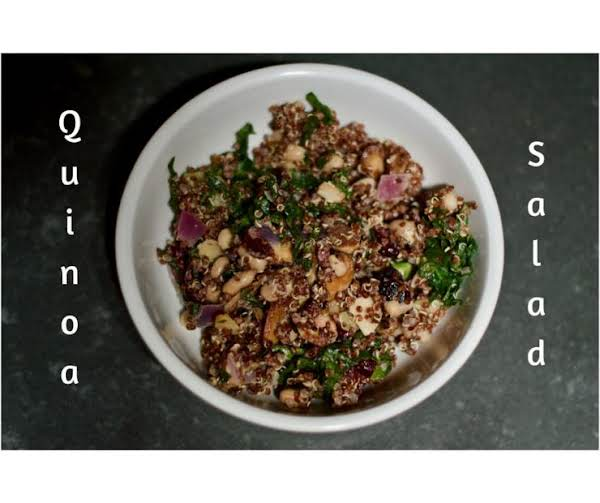 Red Quinoa Salad With Spinach Recipe