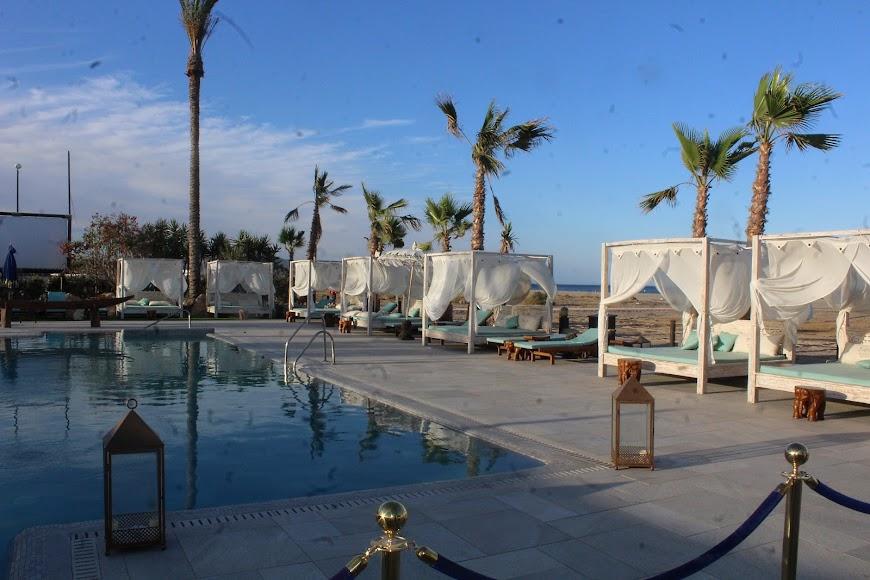 Vera, establecimiento hotelero y playa del la localidad del Levante Almeriense.