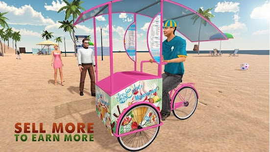 Beach Ice Cream Delivery Boy- screenshot thumbnail