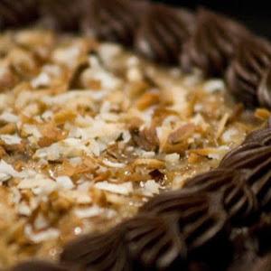 Mini German Chocolate Cakes for 2, Gluten Free