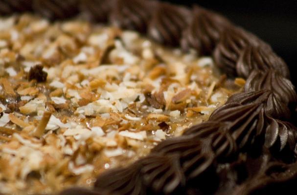 Mini German Chocolate Cakes for 2, Gluten Free Recipe
