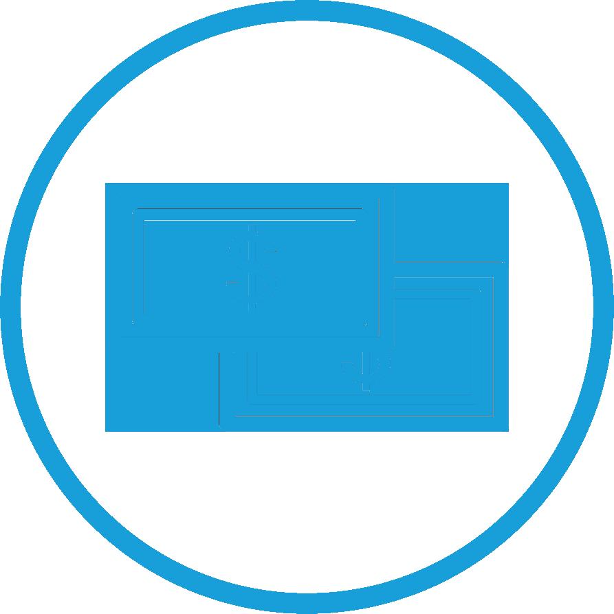 circle - dollar bills icon