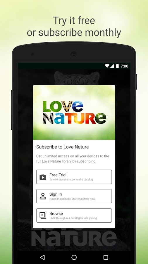 Love Nature- screenshot