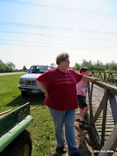 Photo: Master supervisor Betty Smith       HALS Public Run Day 2014-0419 RPW  10:02 AM