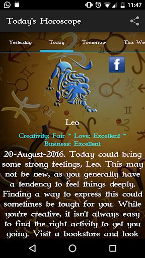 玩免費生活APP|下載Zodiac Astrology & Horoscope app不用錢|硬是要APP
