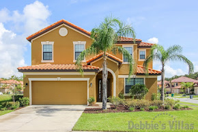 Orlando villa, gated resort, Kissimmee area, private pool, community facilities, close to Disney