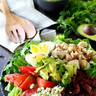 Healthy Chicken Cobb Salad.