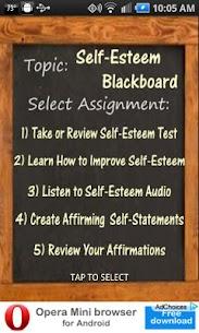 Self-Esteem Blackboard 1