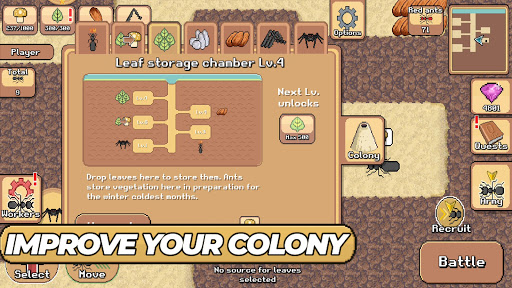 Pocket Ants: Colony Simulator apkdebit screenshots 2