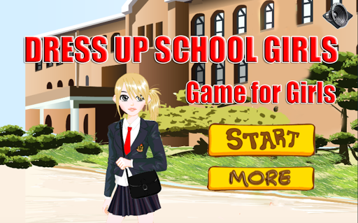 Dress Up School Girls