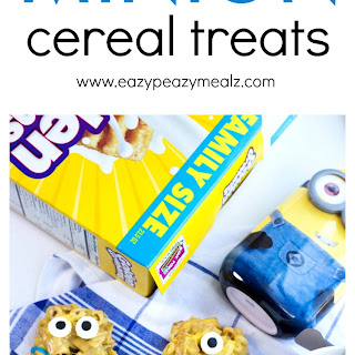 Minion Cereal Treats