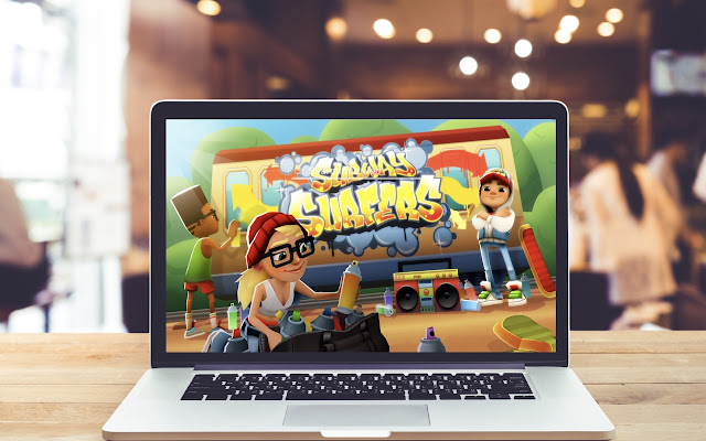 Subway Surfers HD Wallpapers New Tab Theme