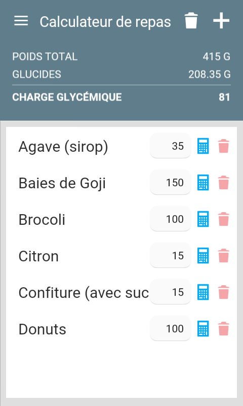indice et charge glyc mique ig applications android sur google play. Black Bedroom Furniture Sets. Home Design Ideas