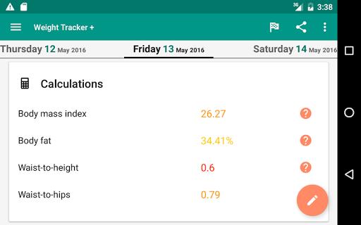 Weight Loss Tracker + screenshot 11