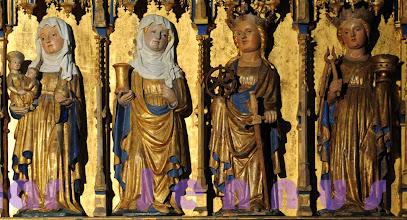Photo: St. Georg Altar in St. Nikolai