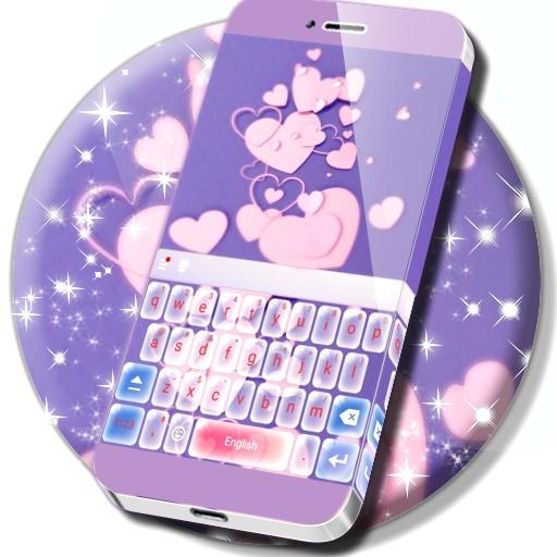 Animated Valentine's Keyboard Theme