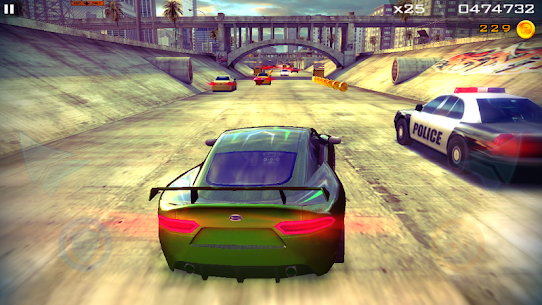 Redline Rush: Police Chase Racing App Download For Android and iPhone 5