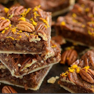 Pecan Orange Cinnamon Slab
