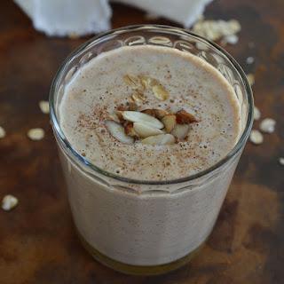 Almond Milk Breakfast Smoothie.