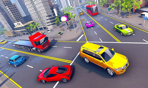 Prado Taxi Car Driving Simulator  screenshots 7