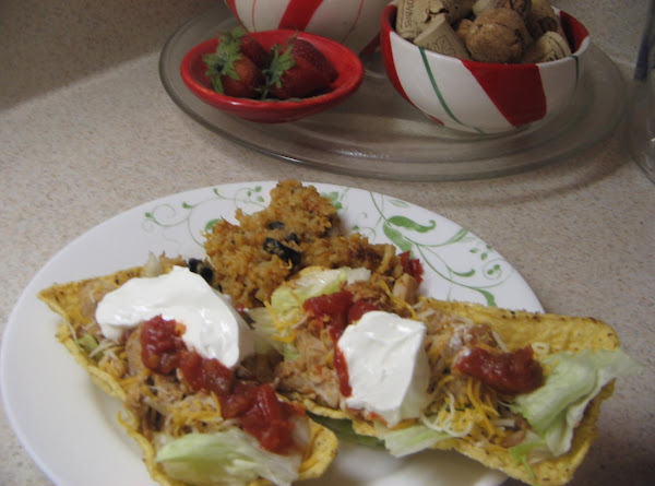 Tacos In Fiesta Flats Recipe