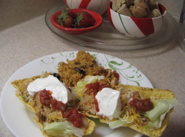 Tacos In Fiesta Flats Recipe