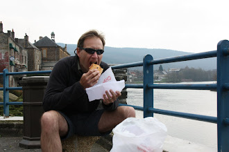 Photo: Day 15 - Filling His Face in Montherme