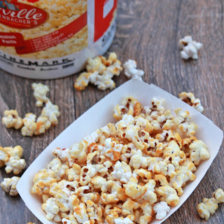 3 Ingredient Old Fashioned Kettle Corn Popcorn.