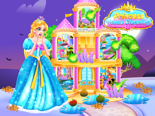 Princess Castle House Cleanup - Cleaning for Girls 1.2 de.gamequotes.net 2