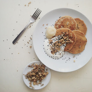 Spelt & Kamut Pancakes Recipe